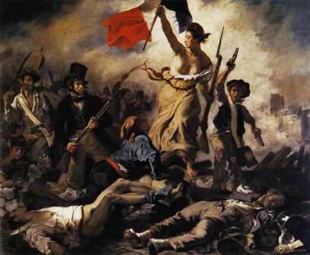 Eugene Delacroix La Liberté guidant le peuple