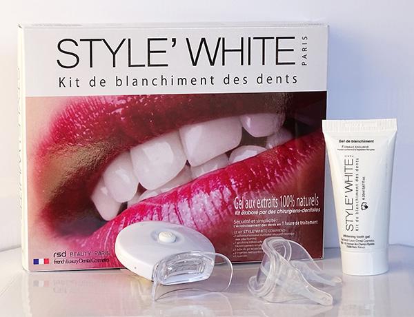 white blanchiment des dents